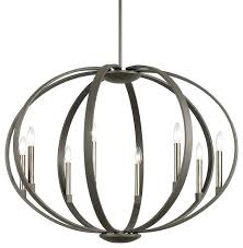 kichler lighting chandelier lighting bronze chandelier kichler lighting grand bank 6 light auburn stained chandelier