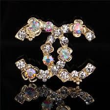 Famous Brooch Brand <b>Gold</b> Plated <b>Designer</b> Brooches <b>Luxury</b> ...