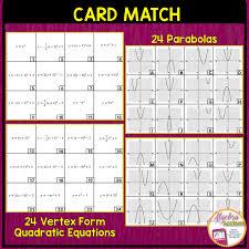 graphing quadratic equations vertex form to graph matching quadratics in standard worksheet doc cee607d1ba36e842c4603fe8efd graphing quadratics