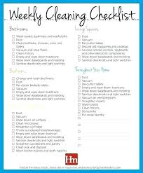 House Cleaning Planner Template Care Home Schedule Nursing