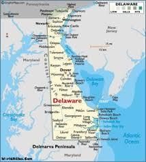 Map Of Delaware De In 2019 Map Of Delaware Rehoboth Beach
