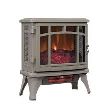 the keystone line up from comfort glow features beautiful style with a double swinging door design the gloss finish adds realism to this stove and its