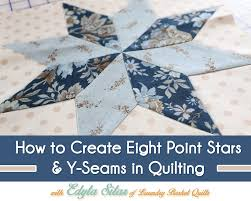 How to Create Eight Point Stars & Y-Seams in Quilting - The Jolly ... & How to Create Eight Point Stars & Y-Seams in Quilting Adamdwight.com