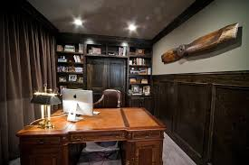 nice office decor. Home Office Vintage Decor Nice Looking N