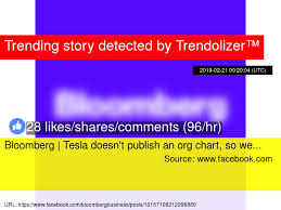 Bloomberg Organizational Chart Bloomberg Tesla Doesn 039 T Publish An Org Chart So We