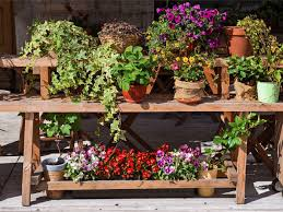 Potting Bench Simple Potting Bench