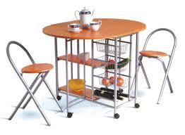 Desayunador   Mesa Cocina Plegable Auxiliar Con 2 Banquetas. Cargando Zoom.