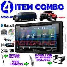 ford edge stereo parts accessories ford mercury bluetooth cd usb aux radio stereo installation double din dash kit fits