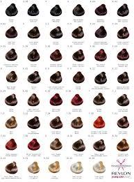 Revlon Professional Hair Colour Chart Revlon Young Color Excel Creme Gel Hair Colour Choose