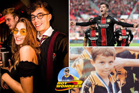 German wizard Kai Havertz looks like Harry Potter, is devoted to girlfriend  Sophie Weber, and relaxes by playing piano