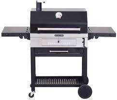 kitchenaid charcoal grill cart style storage rack folding side shelves steel