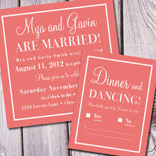check yes or no wedding announcement reception invite deposit Wedding Announcement And Reception Invitation check yes or no wedding announcement reception invite deposit only wedding announcement reception invitation