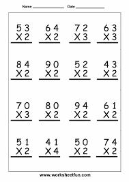 Grade 3rd Grade Multiplication Worksheets Wallpapercraft Worksheet ...