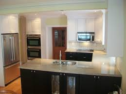 Brown And White Kitchens 2 Toned Kitchens Trendy Too Much For Small Spaces