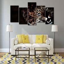 Leopard Print Living Room Decor Popular Leopard Poster Buy Cheap Leopard Poster Lots From China