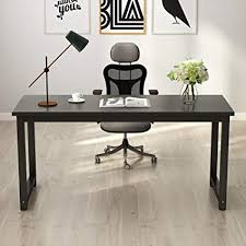large desks for home office. Tribesigns Computer Desk, 63\u0026quot; Large Office Desk Table Study  Writing For Home Large Desks Home Office