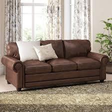 lane leather sofa birch lane pratt leather sofa