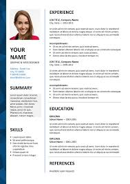 Download Word Template For Cv - Fast.lunchrock.co