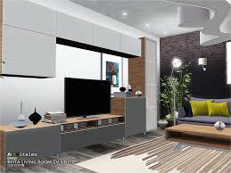besta  on the sims resource sims 3 wall art with artvitalex s besta living room tv units