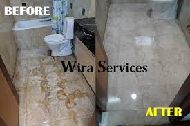 wira services provides professional parquet marble floor polishing services at affordable