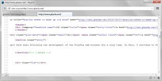 Firefox 41: View Page Source opens website HTML code in tabs ...