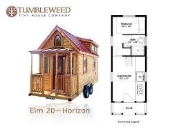 tiny house design plans. Tiny House Plans 117 Sq Ft On Wheels 16 Design H