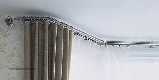 Heavy Duty Curtain Rails For Bay Windows New Help Looking For Bay Window Pole  Curtains Bendable