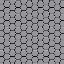 Mosaik Fliese massiv Metall Edelstahl matt in grau 1,6mm stark ...
