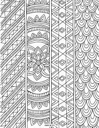 6 Free Printable Coloring Book Pages For Adults Best 25 Adult