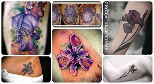 ирис тату значение смысл история и примеры фото татуировки