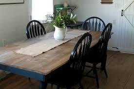 black and white farmhouse kitchen update knick of time throughout farmhouse kitchen table