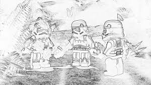 Lego Clone Wars Coloring Pages 2432280