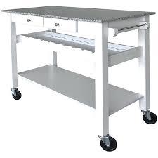 white kitchen island cart w pebble beach granite top support white kitchen island cart w pebble beach granite top support