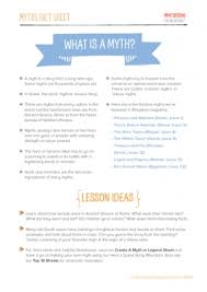 descriptive writing teaching ideas myths and legends resource pack