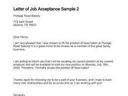 Offer Acceptance Email Sample Job Acceptance Letter Business Mentor