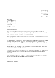 resignation letter format impressive resignation letter formal resignation letter examplesampleresignationletters sample resignation letter due to retirement writing a resignation letter notice