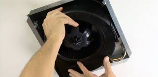 installing an ezfit bathroom vent fan from broan nutone