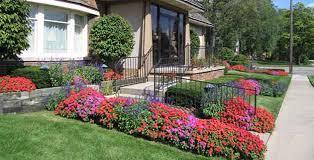 Garden Design - flower landscaping ideas for front yard
