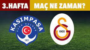 Kasımpaşa - Galatasaray maçı ne zaman? Saat kaçta? - YouTube