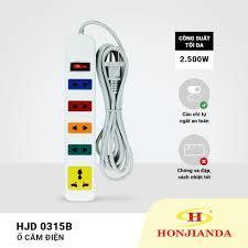 Ổ cắm điện Honjianda HJD-0315B: Mua bán trực tuyến Ổ điện công tắc thiết bị  tiết kiệm điện với giá rẻ