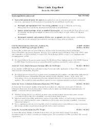 Qa Engineer Resume Sample Engineer Resume Civil Sample Software
