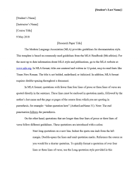 017 Essay Example Mla Headings Format Section Heading Proper For