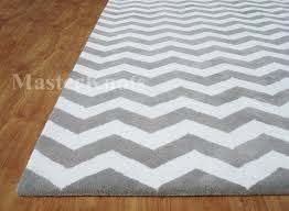 chevron zig zag grey handmade woolen area rug carpet