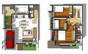 4 bedroom 2 story house plans co floor 3d