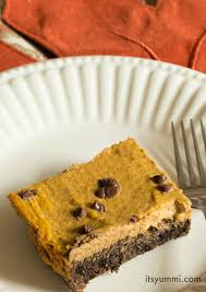 Low Carb Pumpkin Pie Bars Its Yummi
