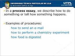 chronological order process essays 3