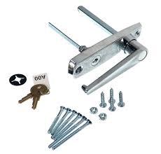 garage door lock handle. Outside Lock Handle. Part Garage Door Handle
