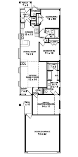 653501 warm and open house plan for a narrow lot house plans floor plans home plans plan l shaped house plans for narrow lots