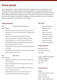 chef resume samples. chef cv Canreklonecco