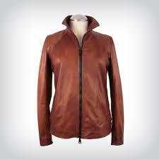 romana nappa leather jacket